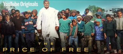 Movie titled The Price Of Free