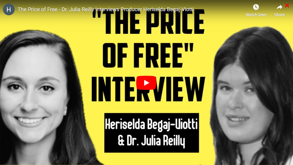 Dr. Julia Reilly, UNL Professor of Practice interviews Impact Producer Heriselda Begaj-Viotti